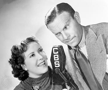 Gracie Allen and George Burns